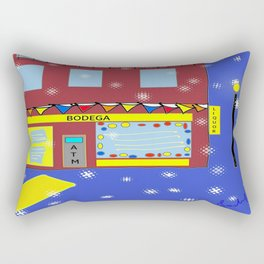 NYC nightlife Rectangular Pillow