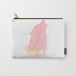 Watercolor - wolf Carry-All Pouch