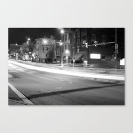 Lights On Second And Penn Canvas Print
