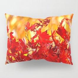 RED AND ORANGE AUTUMN Pillow Sham