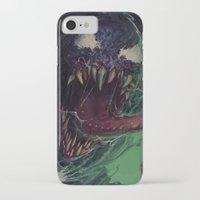 venom iPhone & iPod Cases featuring Venom by MATT DEMINO