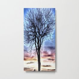 The Lovely Tree Metal Print