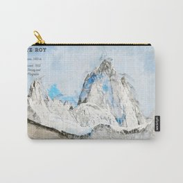 Fitz Roy, Patagonia South America Carry-All Pouch