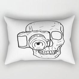 Killer Behind The Lens Rectangular Pillow