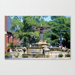 Kenan Memorial Fountain Canvas Print
