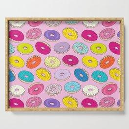 Donuts Pink Dreams Serving Tray