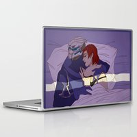 garrus Laptop & iPad Skins featuring Shakarian Morning by its-liss