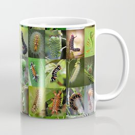 Caterpillar Montage Coffee Mug