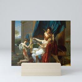 Jacques-Louis David - Sappho and Phaon Mini Art Print