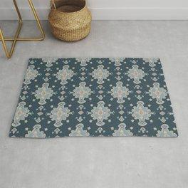 Cromwell Carpet Persian Rug Pattern BLue Rug