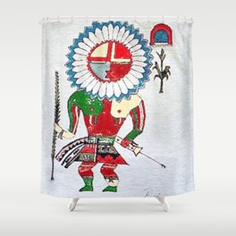 Kachina Shower Curtain