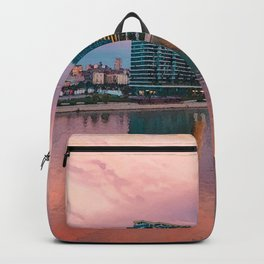Belgrade on Water Watercolors Collection Backpack