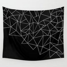 Ab Storm Black Wall Tapestry