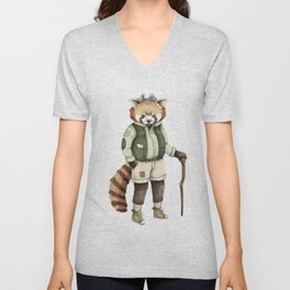 Red Panda Ranger Unisex V-Neck