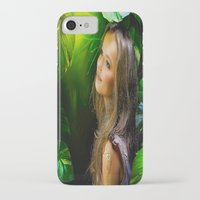 amy hamilton iPhone & iPod Cases featuring Amy by Robin Curtiss