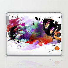 Watercolor Face Laptop & iPad Skin