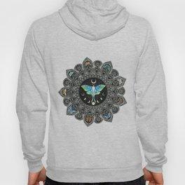 Lunar Moth Mandala Hoody