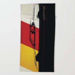 Nation Series: Germany Beach Towel
