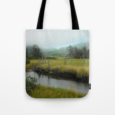 Mystery In Mist Tote Bag