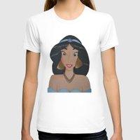 jasmine T-shirts featuring Jasmine by Sierra Christy Art
