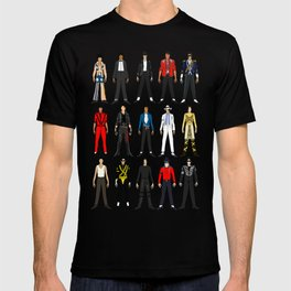 Outfits of King MJ Pop Music T-shirt