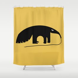 Angry Animals - Anteater Shower Curtain