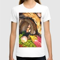 vegetables T-shirts featuring vegetables by  Agostino Lo Coco