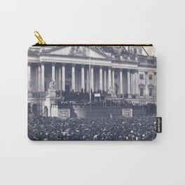 Inauguration of Pesident Abraham Lincoln (March 4, 1861) Carry-All Pouch