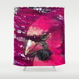 Redbird Tribute Shower Curtain