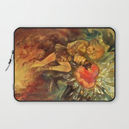 Straight to Your Heart! Laptop Sleeve