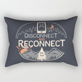 Reconnect... Rectangular Pillow