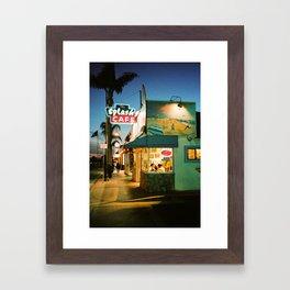 Splash Cafe Framed Art Print