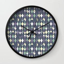 Haphazard Geometry Wall Clock