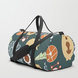 Bikes, bears and flowers Duffle Bag