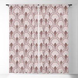Mosaic - Parisian Tiles – Rose Blackout Curtain