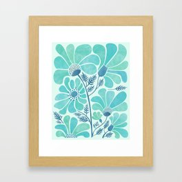 Himalayan Blue Poppies Framed Art Print