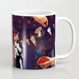 Refreshing Ideas. *Futuristic / Sci-Fi* Surreal Digital Collage. Coffee Mug