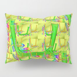 U - pattern 2 Pillow Sham