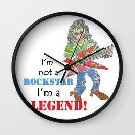 rockstar legend Wall Clock