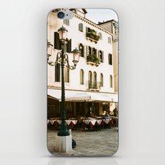 VENICE VII - STREET LIGHT iPhone & iPod Skin