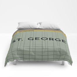 ST. GEORGE | Subway Station Comforters