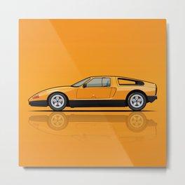 MB C111-II Concept Car Metal Print