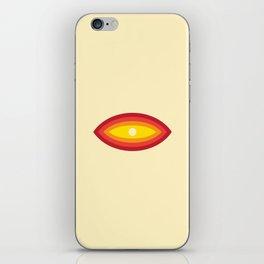 Vintage 70's Rainbow Eye iPhone Skin