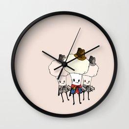 Cauliflower Kid Wall Clock