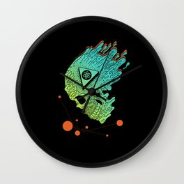Child of Atom Wall Clock