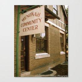 Wenonah, NJ Canvas Print