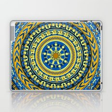 Tribal Aztec Round Laptop & iPad Skin