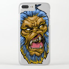 MeanMuggin Denominator Clear iPhone Case