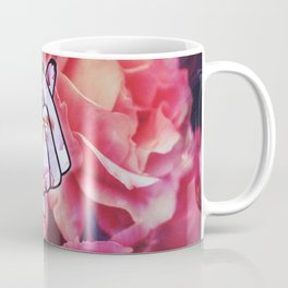 Love Finger Snap Floral Coffee Mug