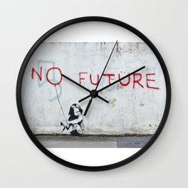 Banksy, No Future Wall Clock